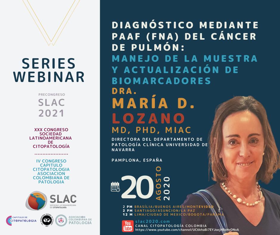 Patologos de Colombia Diagnostico mediante PAAF (FNA) del cáncer de pulmón