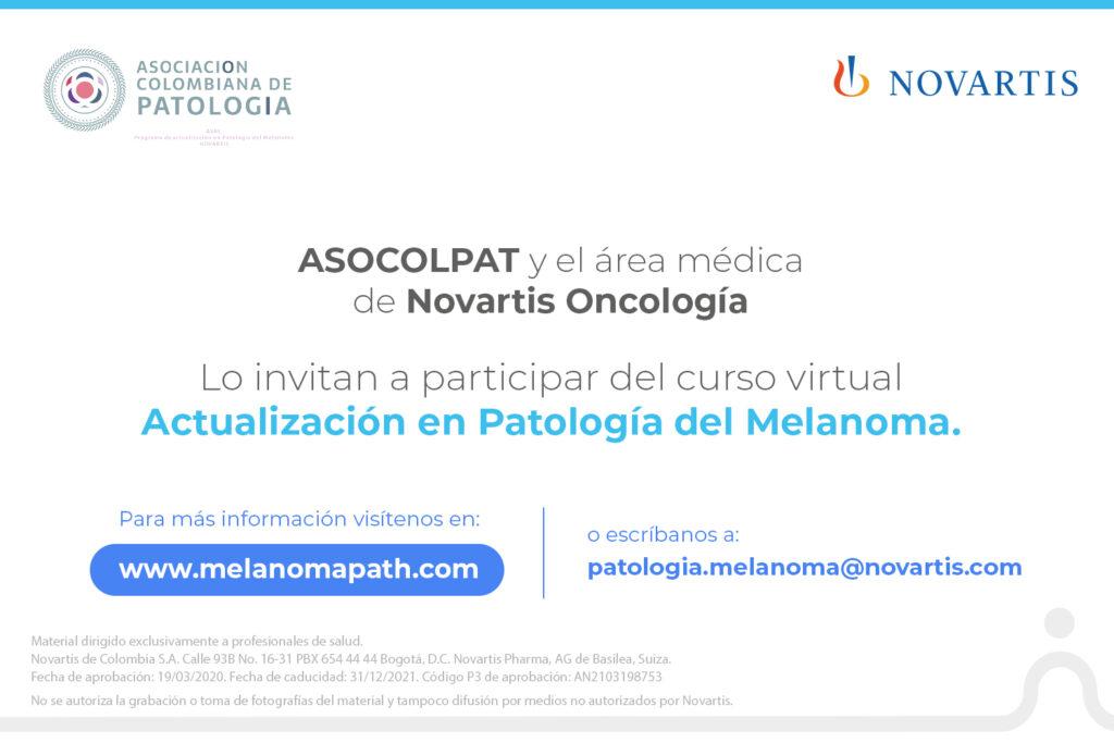 novartis curso melanoma patologos